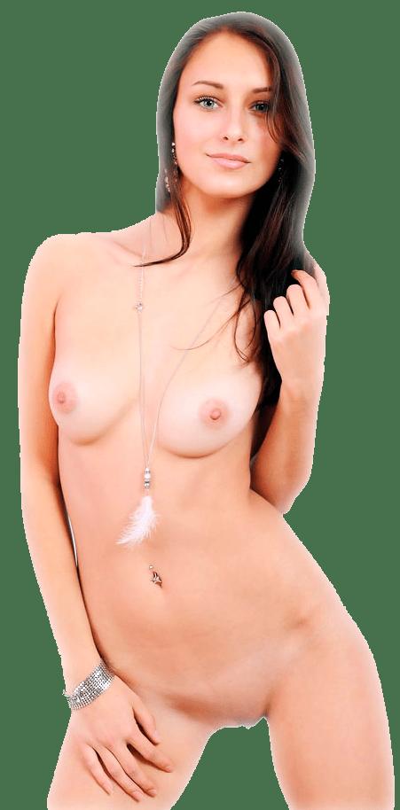 Обнаженная секси девушка